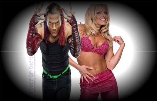 Jeff Hardy and Trish