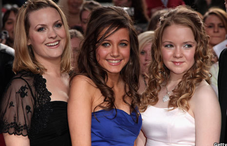 Jo Joyner, Maddie Duggan and Lorna Fitzgerald at the British Soap Awards 2009