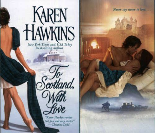 Historical Romance wallpaper possibly containing bare legs, a sign, and a stocking entitled Karen Hawkins