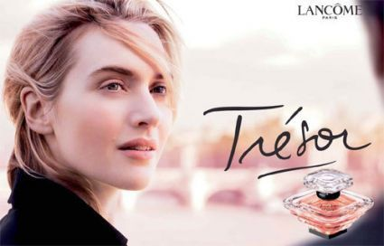 Fragrance wallpaper with a portrait titled Kate Winslet