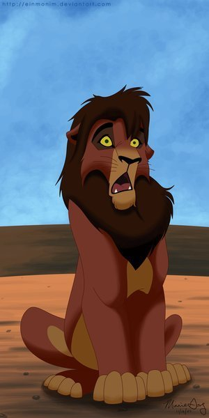 Lion king kovu - photo#13