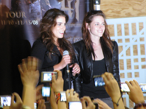 Kristen and Nikki- best buds