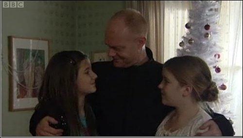 Lauren, Max and Abi Branning