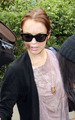Lindsay leaving Sam's house - lindsay-lohan photo