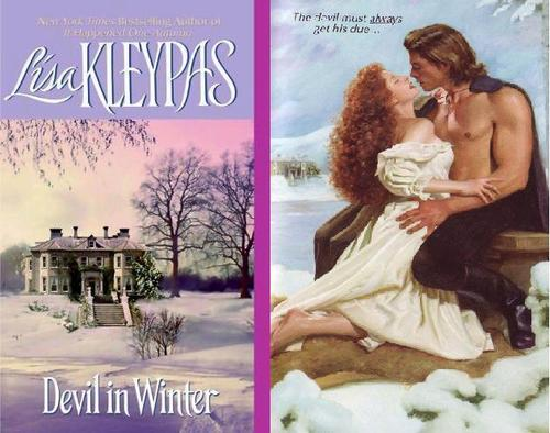 Historical Romance wallpaper probably containing a newspaper, a sign, and a bouquet entitled Lisa Kleypas - Devil in Winter