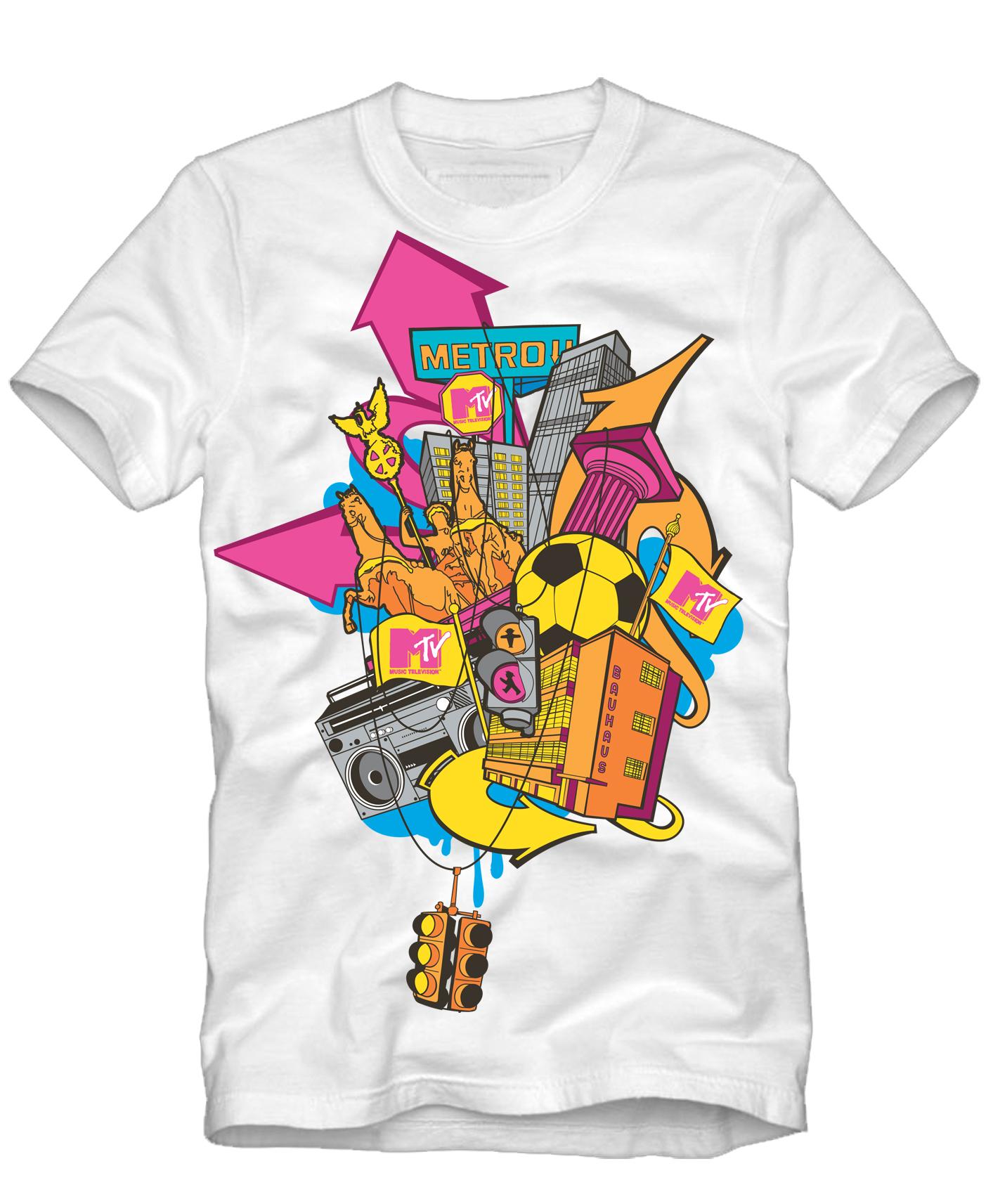 MTV x Zara T-shirt 3