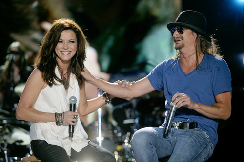 Martina and Kid Rock
