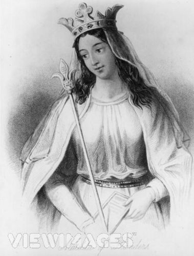Matilda of Flanders, 皇后乐队 of England