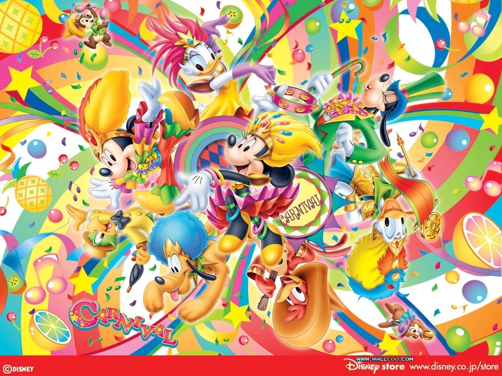 Mickey mouse and friends wallpaper