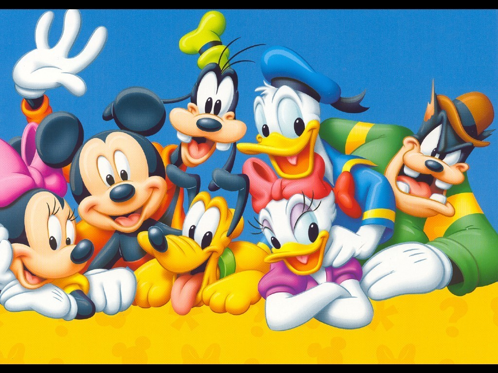 Mickey Mouse and Friends Wallpaper - Disney 1024x768 800x600
