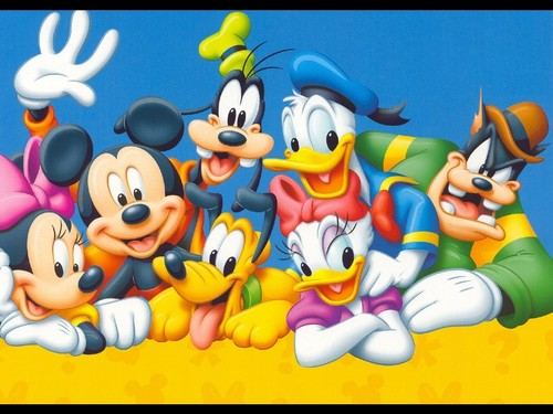 Disney Hintergrund entitled Mickey maus and Friends Hintergrund