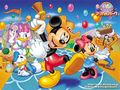 Mickey tetikus and Friends kertas dinding