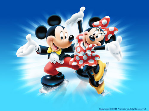 Mickey and Minnie wolpeyper