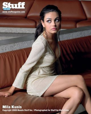 Mila Kunis achtergrond possibly with bare legs, tights, and a leotard titled MilaKunis<3!