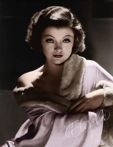 Classic Movies wallpaper probably containing a portrait called Myrna Loy