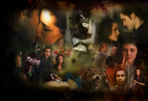 Twilight Saga Movies wallpaper containing a concert entitled New Moon <3
