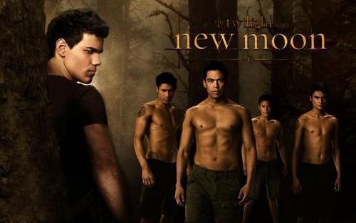 Twilight Saga Фильмы Обои probably with a ломоть entitled New Moon <3