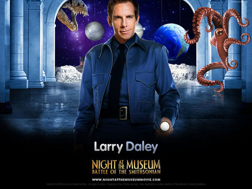 Filem kertas dinding called Night at the Museum: Battle of the Smithsonian