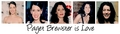 Paget Brewster is amor