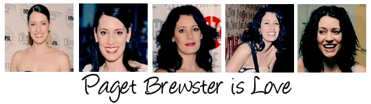 Paget Brewster is Amore