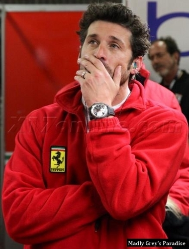 Patrick at Le Mans