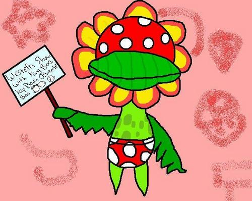 Petey Piranha, appearing in my new video!