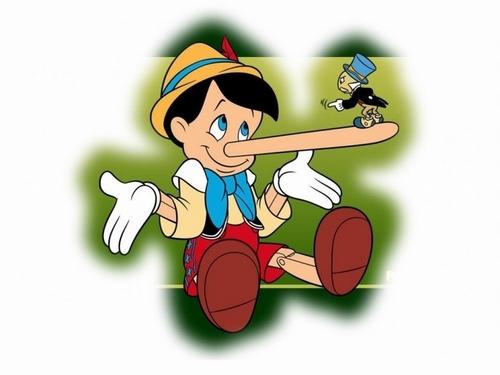 Pinocchio fond d'écran