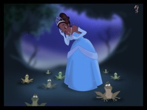 The Princess and the Frog wallpaper titled Princess and the Frog