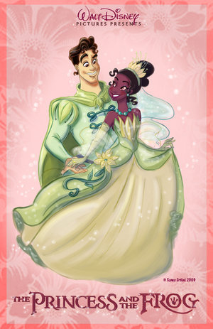 The Princess and the Frog wallpaper possibly containing anime called Princess and the Frog