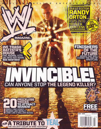 WWE Magazine Cover - randy-orton Photo