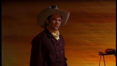 "Riley's ""Cowboy Guy"" look from ""Restless"" - buffy-the-vampire-slayer Screencap"