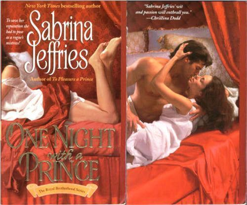 Sabrina Jeffries - One Night With A Prince