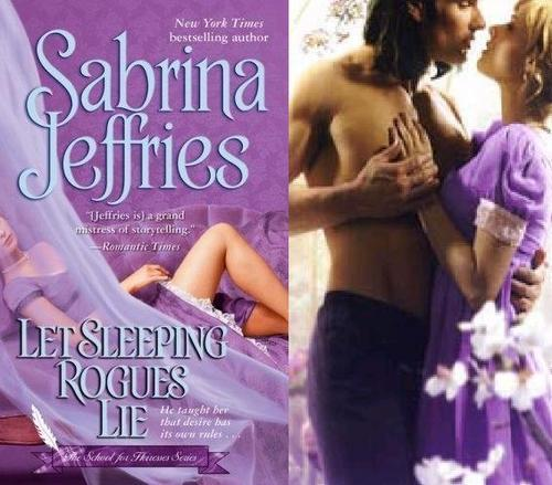 Historical Romance wallpaper possibly containing a portrait and skin called Sabrina Jeffries -  Let Sleeping Rogues Lie