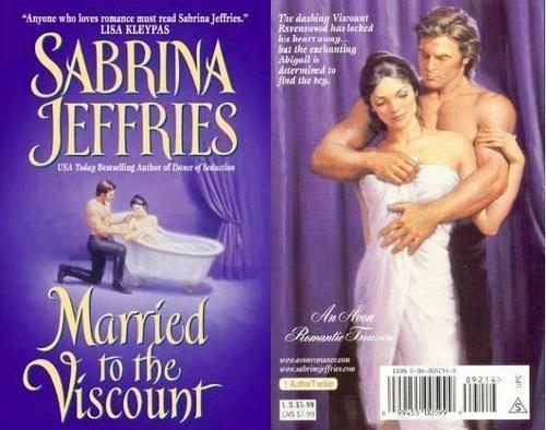Sabrina Jeffries -  Married to the Viscount