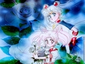 Sailor Moon &amp; Chibiusa - sailor-senshi wallpaper