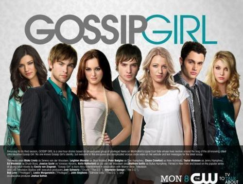 Gossip Girl wallpaper with a portrait called Season 3
