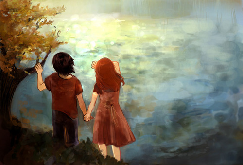 Sev&Lily-by the river