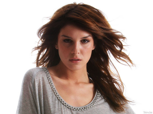 Shenae Grimes wallpaper possibly containing a pullover and a portrait titled Shenae