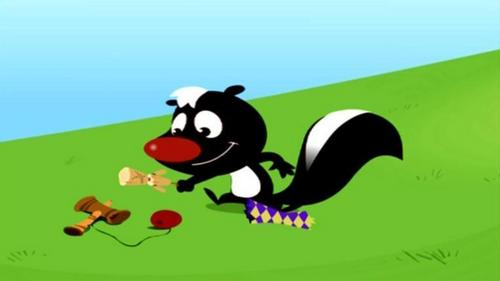 Skunk And His Toys