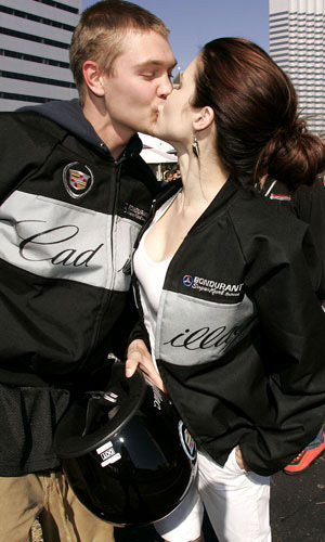 Sophia Bush and CMM at the Super Bowl XXXIX - 3rd Annual Cadillac Super Bowl Grand Prix