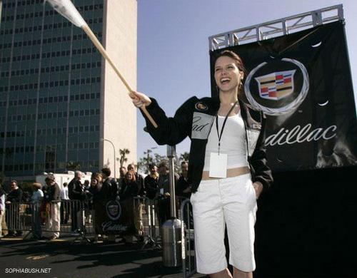 Sophia bụi cây, cây bụi, tổng thống bush and CMM at the Super Bowl XXXIX - 3rd Annual Cadillac Super Bowl Grand Prix