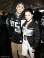 Sophia kichaka and CMM at the Super Bowl XXXIX - 3rd Annual Cadillac Super Bowl Grand Prix