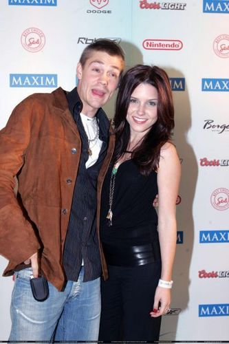 Sophia Bush and CMM at the Super Bowl XXXIX - MAXIMONY Party