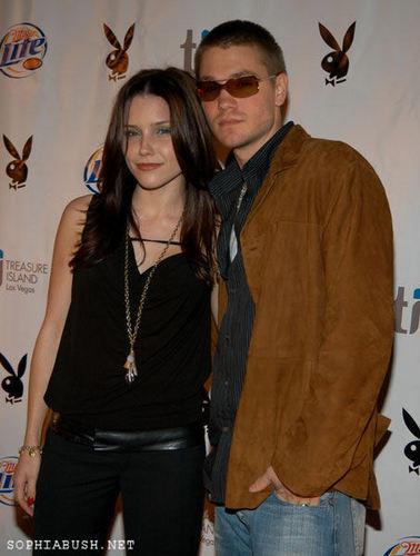 Sophia 부시, 부시 대통령은 and CMM at the Super Bowl XXXIX - Playboy's Super Bowl Party