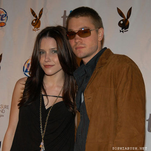 Sophia بش and CMM at the Super Bowl XXXIX - Playboy's Super Bowl Party