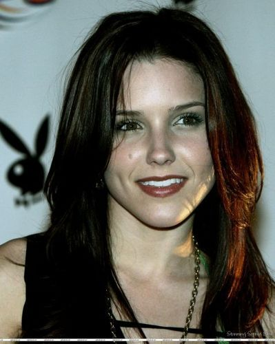 Sophia Bush and CMM at the Super Bowl XXXIX - Playboy's Super Bowl Party