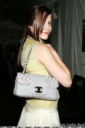 Sophia kichaka at the Olympus Fashion Week - Vera Wang