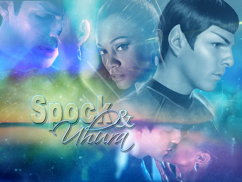 Spock&Uhura - spock-and-uhura Fan Art