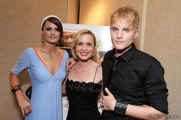 Stana Katic, Radha Mitchell and Toby Hemingway