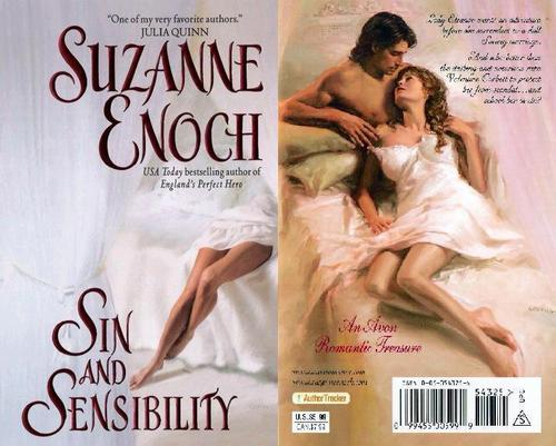 Historical Romance wallpaper with a portrait titled Suzanne Enoch - Sin and Sensibility